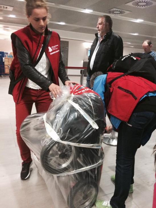 plasta in väska arlanda