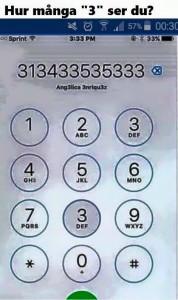 Denna lade jag upp på facebook, många undrade svaret. Svaret är..... 21!